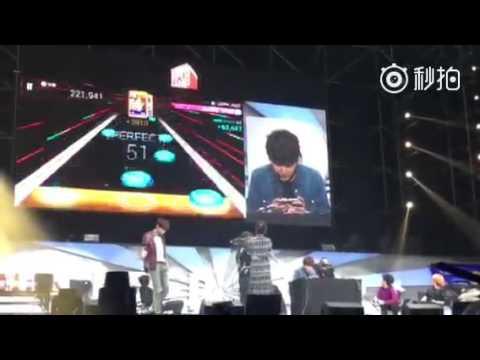 Super Camp in Beijing [160227] - Kyuhyun playing SM Superstar