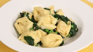 Tortellini with Spinach and Peas Recipe - Laura Vitale - Laura in the Kitchen Episode 900