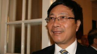 Bộ trưởng ngoại giao VN nói về biển Đông