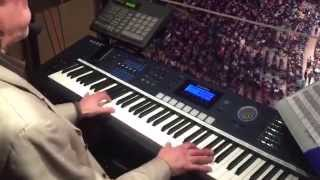 The Ray Castoldi Experience: live with the number 1 organist in Sportsentertainment in the US at MSG