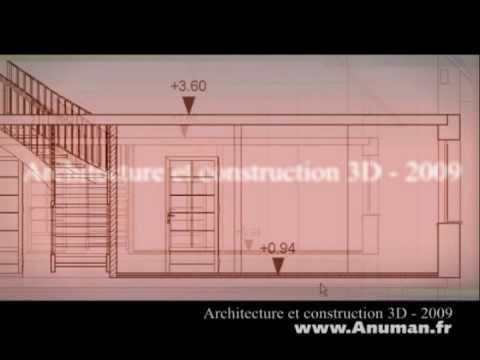 ARCHITECTURE ET CONSTRUCTION 3D 2009 (TEASER) - YouTube