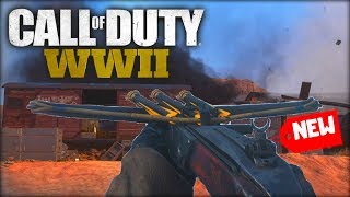 *NEW* CROSSBOW IS CRAZY GOOD!? (COD WW2 Crossbow Gameplay)