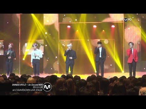 [MPD직캠] 샤이니 직캠 재연 An Encore SHINee Fancam Mnet MCOUNTDOWN 150528