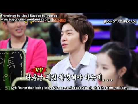 Strong Heart - Donghae covered in blood (Eng Sub)