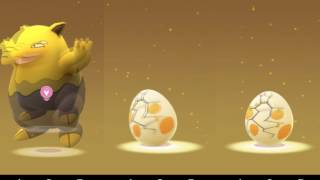 Hatching 200 gen 2 Christmas eggs in pokemon go at original odds