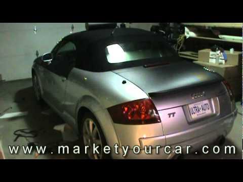 Audi TT Carbon Fiber Wrap by Market Your Car Inc..mpg