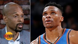 Westbrook can make the Heat relevant for first time since LeBron left - Bomani Jones | High Noon