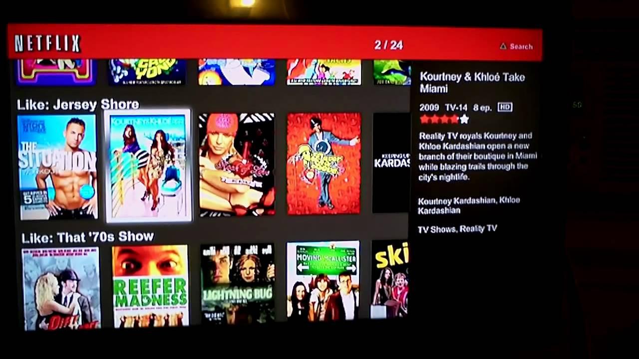Netflix Ps3