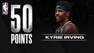 Kyrie Dazzles With 50 In Debut!