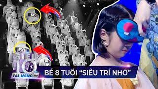 Bé 8 tuổi 'SIÊU TRÍ NHỚ' mang đến thử thách 'HACK NÃO' cho Trấn Thành, Hari Won | Siêu Tài Năng Nhí
