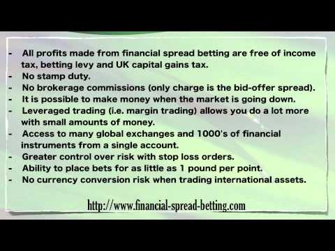 Benefits and Risks of Using Spread Betting to Trade