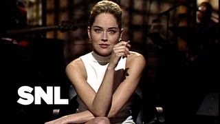 Sharon Stone Monologue - Saturday Night Live