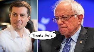 Pete Buttigieg Doesn't Think Bernie Sanders Can Beat Donald Trump