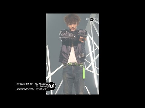 [MPD직캠] 엑소 첸 직캠 Call Me Baby EXO Chen Fancam Mnet MCOUNTDOWN 150409