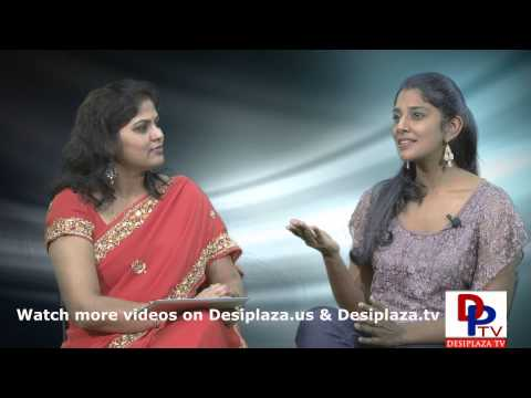Part 2.Ms.Krishna Smitha our own local movie actress talking to Desiplaza TV.