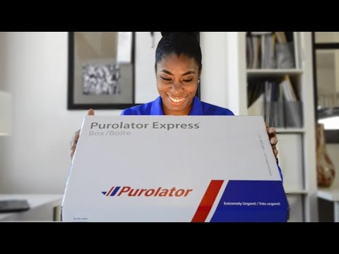 Purolator's new video shows the journey of one of the 17 million packages that will be delivered over the holiday season