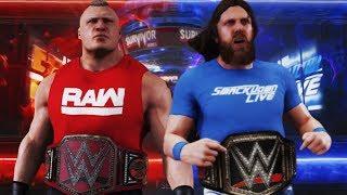 WWE Survivor Series 2018: Brock Lesnar vs Daniel Bryan - Universal Champion vs WWE Champion