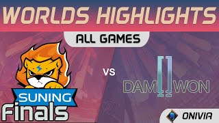 SN vs DWG Highlights ALL GAMES Finals Worlds 2020 Playoffs Suning vs DAMWON Gaming by Onivia
