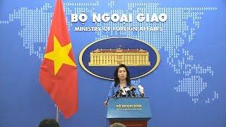 Họp báo thường kỳ Bộ Ngoại giao (12-9-2019)