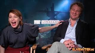 Amy Seimetz & Jason Clarke on PET SEMATARY interview