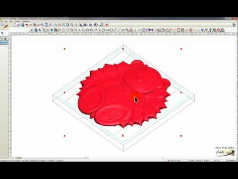 CNC Router Software - ARTCLIP3D - How To Create a 3D Scene?