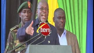 Rais Magufuli alipogusa Mistari ya Wimbo wa Msaanii Darasa