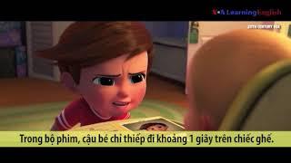 Học tiếng Anh qua phim ảnh: Power Nap - Phim Boss Baby (VOA)