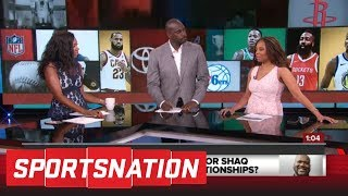 Jemele Hill reacts to Charles Barkley, Shaq's argument on player-coach bond   SportsNation   ESPN