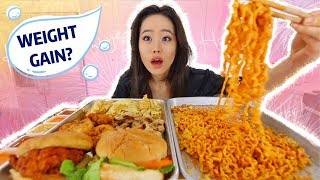 ChickFila + Spicy Nuclear Noodles Combo MUKBANG | Eating Show
