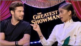 Zac Efron Can't Stop Flirting With Zendaya
