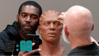 Randy Moss meets the man behind his Hall of Fame bust | E:60