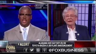 Alabama Governor Kay Ivey on FOX Business
