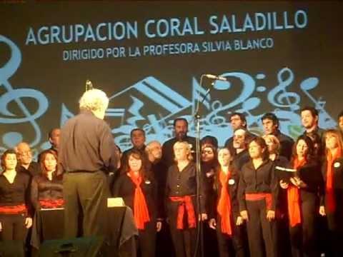 Pregones del altiplano, Agrupación Coral Saladillo y Coro de SADAIC.