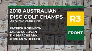 2018 Australian DGC R3F • Patty Robinson • Jacko Sullivan • Tim Marchbank • Jordan Wheeler