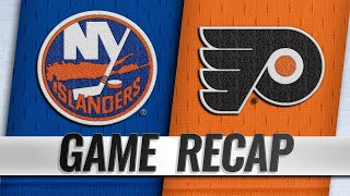 Gostisbehere scores two PPGs in Flyers' 3-1 win