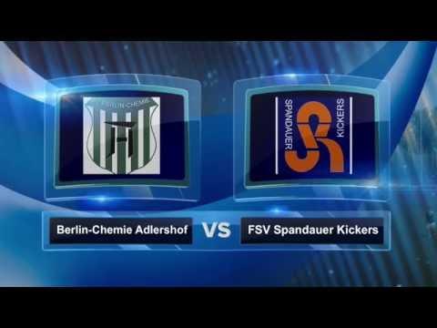 SV Chemie-Adlershof - FSV Spandauer Kickers (1. Runde, Berliner Pokal der 1. Herren 2016/2017) - Spielszenen | SPREEKICK.TV
