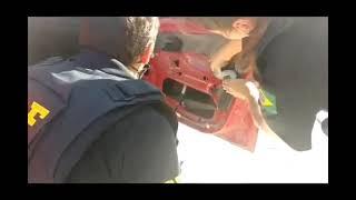 PRF prende dois uruguaios trazendo skunk em carro furtado na BR-116, em Pelotas