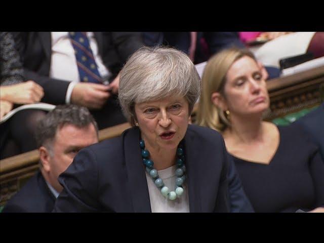 英脫歐國會表決 首相梅伊喊卡宣布延後