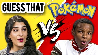 Teens Vs. Adults GUESS THAT POKÉMON Challenge! (REACT)