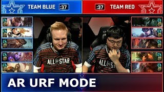 PRO AR URF Mixed Team Show Match (ft. Hai, Sneaky, Uzi, Broxah) | 2018 LoL All Star Event