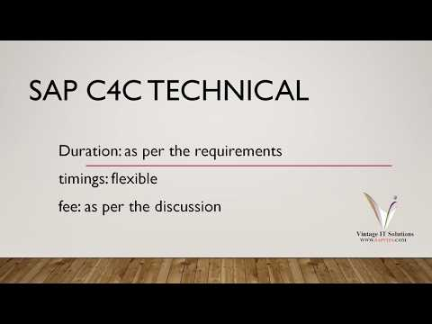 Explore your knowledge with SAP C4C Functional Module