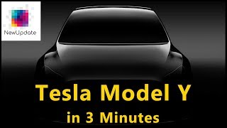 Tesla Model Y event in 3 minutes | NewUpdate
