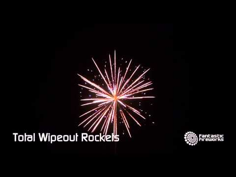Fantastic Fireworks Total Wipeout Rocket Pack