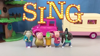 SING Movie AUDITION Coloring