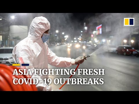 Thailand, Japan and China face new coronavirus outbreaks