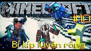 """🐮 Minecraft   Bí Kíp Luyện Rồng #10  """"TÊN ĐỒ TỂ ĐỘC ÁC!!"""" (cùng OopsBanana và NấmGumball)"""