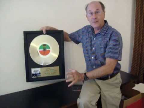 Gold Record CD Display with Custom Plaque