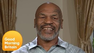 Mike Tyson Confesses He Would Be Too Scared to Fight Piers | Good Morning Britain