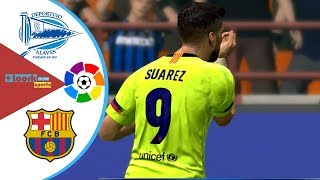 Alaves vs Barcelona - Highlights & Goals / Resumen | la liga
