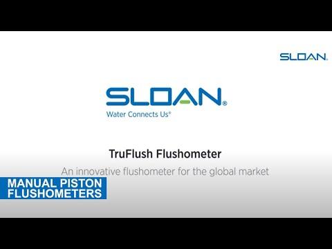 Sloan TruFlush Flushometer